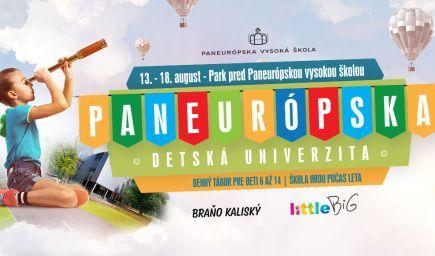 Paneurópska detská univerzita bude deti v lete učiť i zabávať