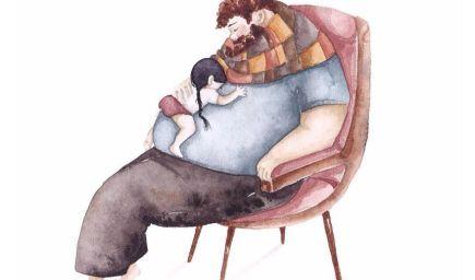 Dojímavé ilustrácie o láske medzi oteckom a dcérkou