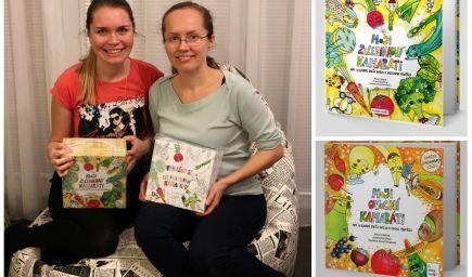 Bojujú vaše deti so zeleninou a ovocím? Tieto šikovné mamičky dnes vďaka svojim knihám motivujú k zdravému jedeniu tisíce detí