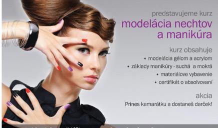 Modelácia nechtov a manikúra