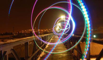 Kurz fotografovania Luminografia - nočné mesto