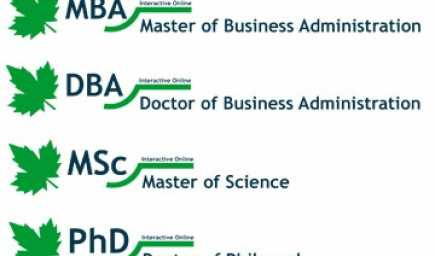 Interactive Online MBA (Master of Business Administration)