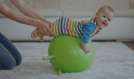 Cvičenie s deťmi 1 - 3 roky