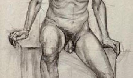 Kresliarsky kurz - Štúdia aktu