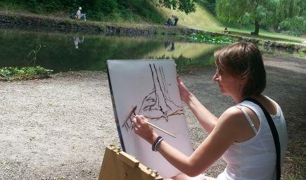 Maliarske sympózium Čertov - maľovanie, kreativita a relax v prírode pre každého 12.-17.7.