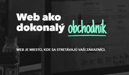 Web ako dokonalý obchodník
