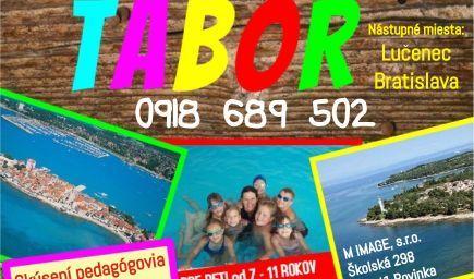 Dobrodružný tábor Savudrija - Istria Chorvátsko