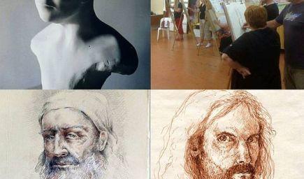 Kurz portrétnej kresby