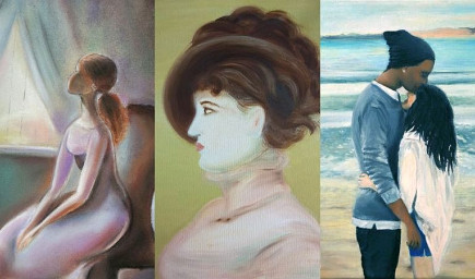 Kurz maľby portrétu — autoportrét