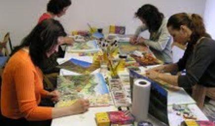 Umením k harmónii - intenzívny víkendový kurz maľovania