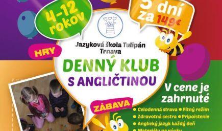 Denný Klub s Angličtinou