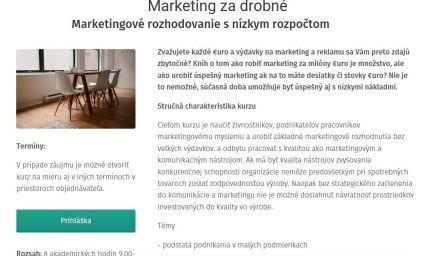 Marketing za drobné