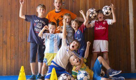 Futbal pre deti od 6 rokov