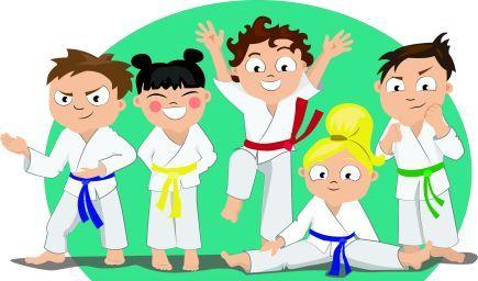 Krúžok kórejského bojového umenia Taekwon-Do