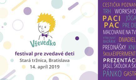 VŠEVEDKO - edukačný a hravý festival pre zvedavé deti a rodičov