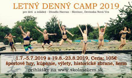 Letný denný tábor 2019