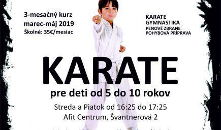Karate pre deti - Dúbravka