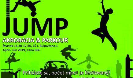 Jump - akrobacia, parkour, Bukovčana