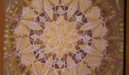 Maľovanie mandál - výroba osobnej mandaly