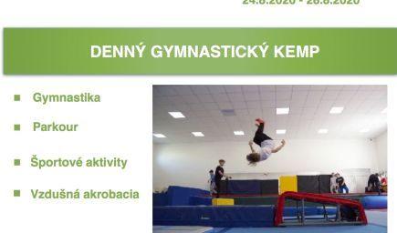 Denný letný gymnastický kemp