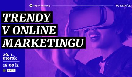 Trendy v online marketingu | Webinár