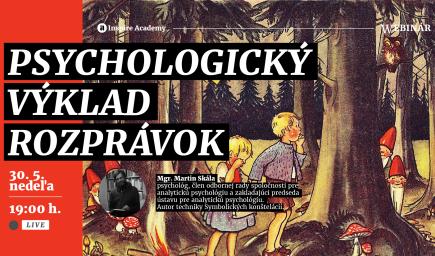 Psychologický výklad rozprávok | Webinár