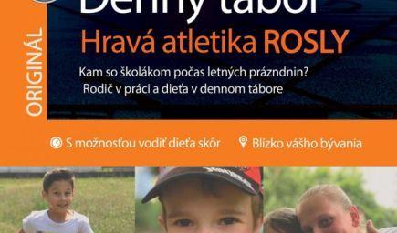 Denný tábor hravá atletika ROSLY v Rači