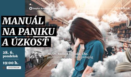 Radkin Honzák: Manuál na paniku a úzkosť | Webinár
