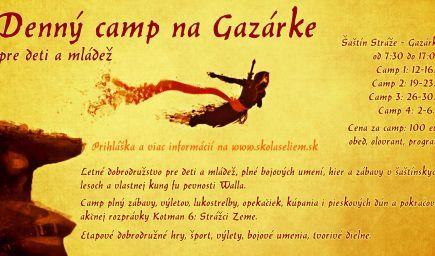 Denný letný camp 2021