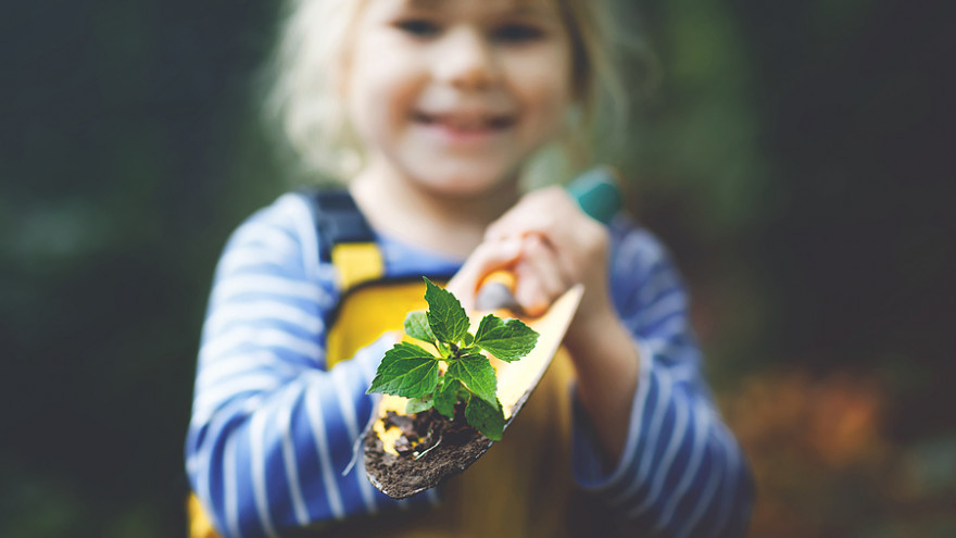 Záhrada je pre dieťa miesto, kde môže pochopiť zákonitosti prírody