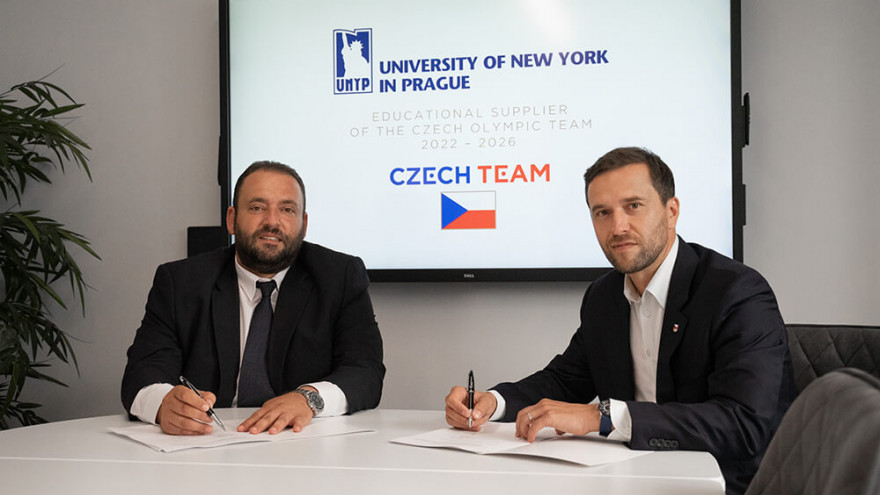 UNYP spája sily s Českým olympijským tímom a Jaromírom Jágrom