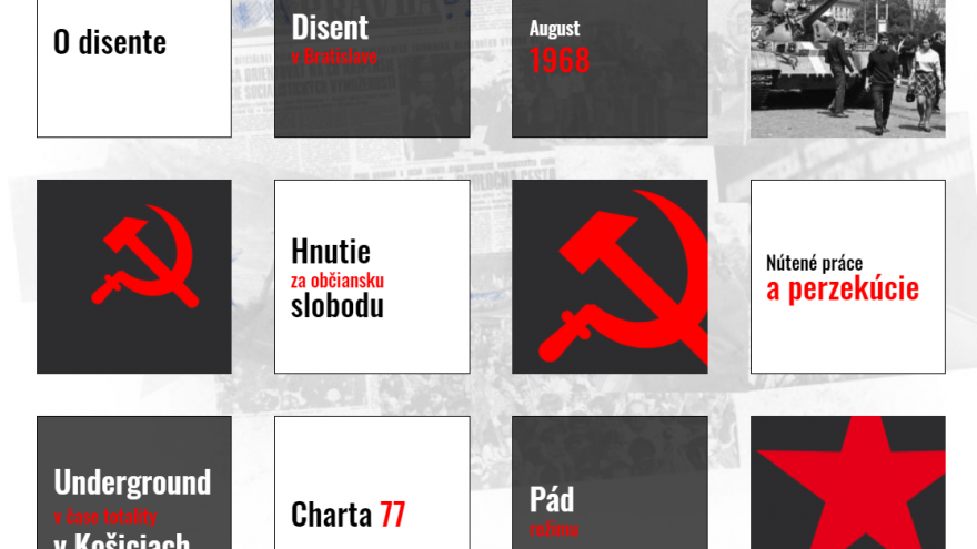 Projekt Slovenský disent mapuje udalosti z obdobia tzv. normalizácie