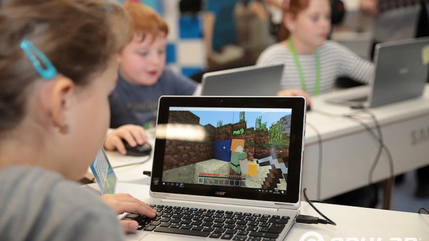 O životnom prostredí sa deti učili aj pomocou hry Minecraft