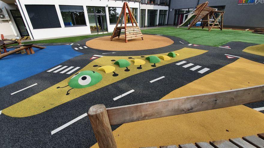Ihrisko v materskej škole littleBIG na bratislavských Kramároch