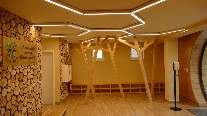 Lesná škola v Leviciach / Zdroj: forestschools.eu