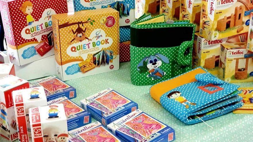 Quiet books v hračkárstve Toyeto