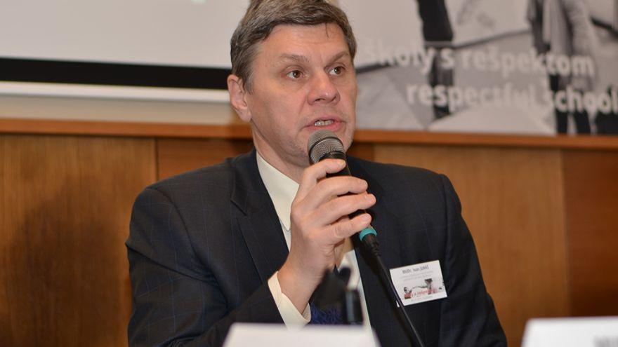Ivan Juráš, člen tímu expertov pripravovaného dokumentu Učiace sa Slovensko
