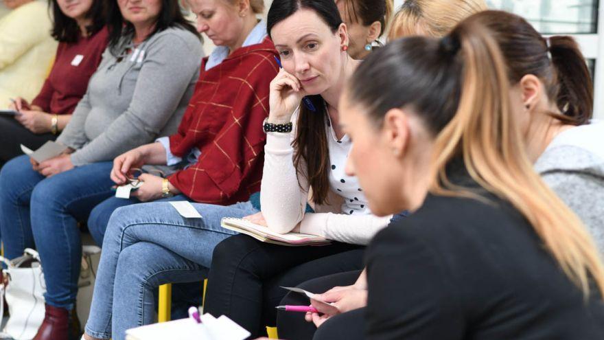 Workshop na tému Zážitková pedagogika realizovaný pre učiteľov v rámci programu Na každej škole záleží