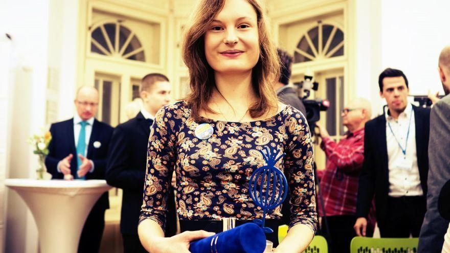 Nadaná Valentínka si len pred pár dňami odniesla ocenenie mladých talentov LEAF Award 2016. / Foto: Daniel Dluhý