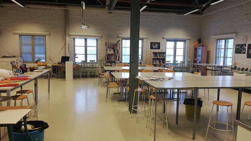 Učebňa na Åbo Akademi University