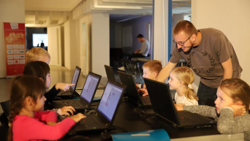 Deti sa počas NIMBUS-u zoznámili s viacerými hernými aplikáciami.