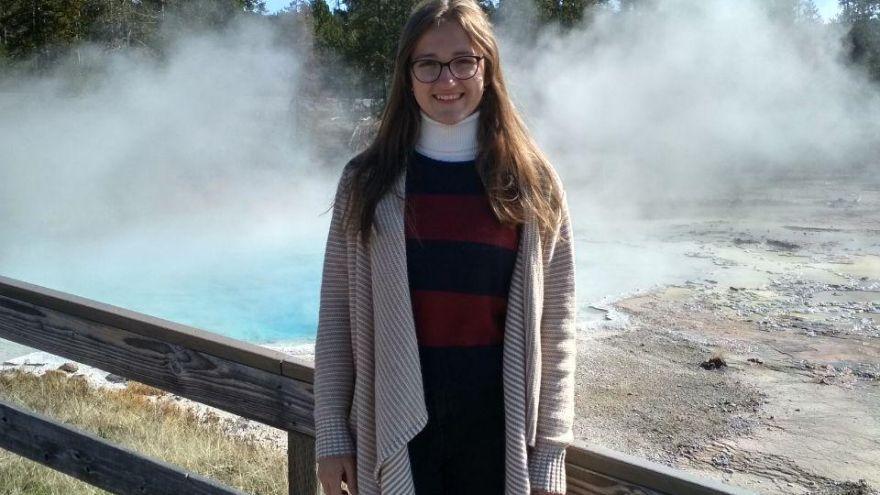 Štúdium na strednej škole v USA zadarmo - výlet na Yellowstone (/ Foto: Kristína Stieranková