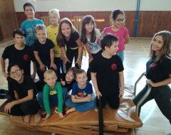 Jump - akrobacia a parkour, Devínska Nová Ves, Škola Šeliem