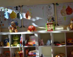 Trieda v materskej škole Hviezdičky